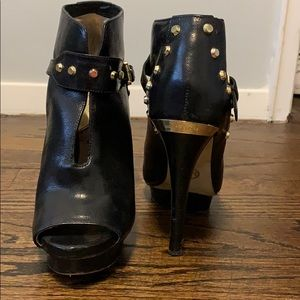 Michael Kors Studded Booties in black size 7.5